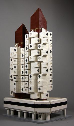 LEGO Nakagin Capsule Tower