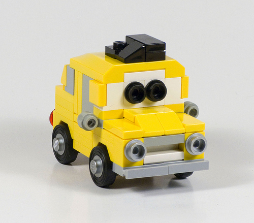 Pixar's Luigi in LEGO
