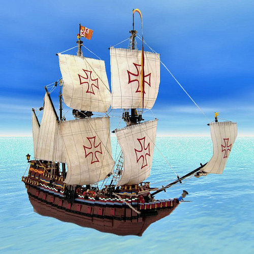LEGO Spanish galleon