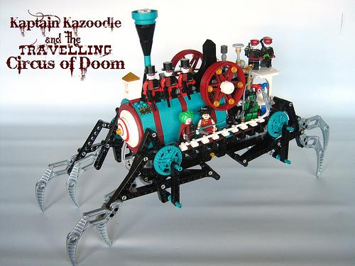 LEGO steampunk walker