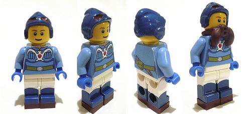 LEGO custom Nausicaä minifig