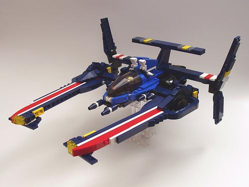 Peter Morris LEGO ARX-02a Starfighter