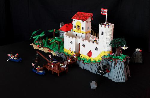LEGO St. Ann's Cliff