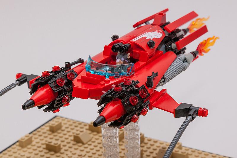 """""""Eagle"""" Podracer MOC - 8"""