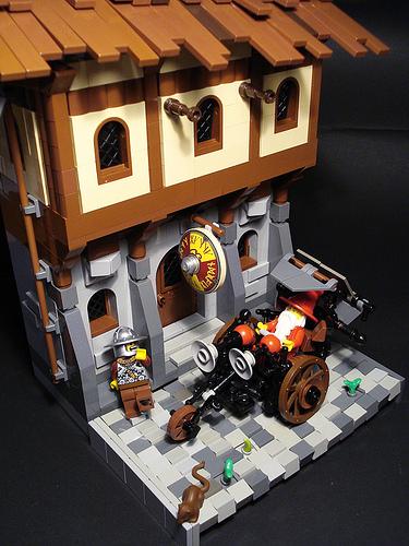 LEGO Discworld captainsmog Windle Poons wheelchair