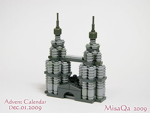 LEGO Twins Tower