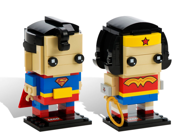 BrickHeadz Superman & Wonder Woman - San Diego Comic-Con 2016 Exclusive