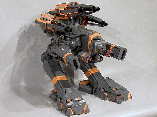 LEGO Archangel Michael mecha