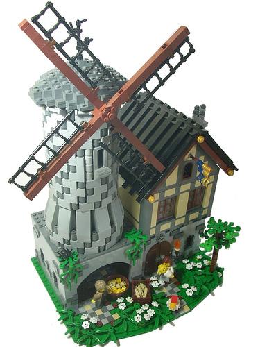 LEGO Tavernellos windmill