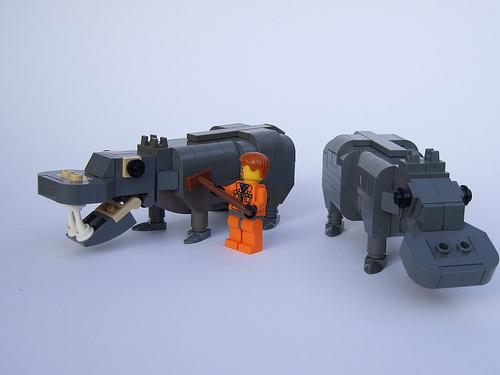 Lego Hippo