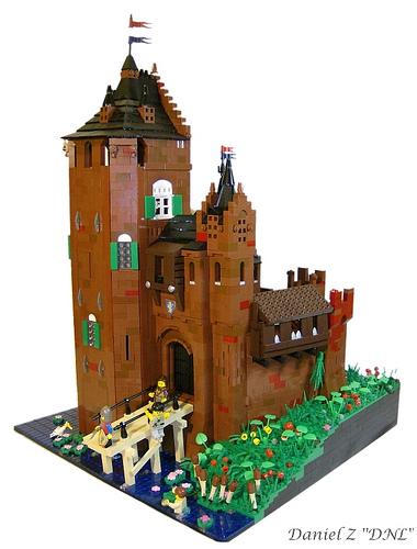 LEGO Daneil Z Slot Weijenaard