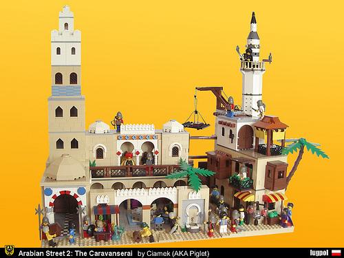Lego Pigletciamek Caravanserai.