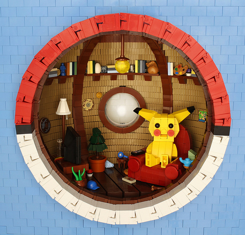 Inside a Poké Ball