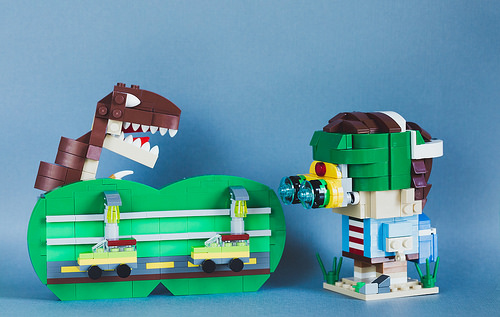 Jurassic Park Brickheadz
