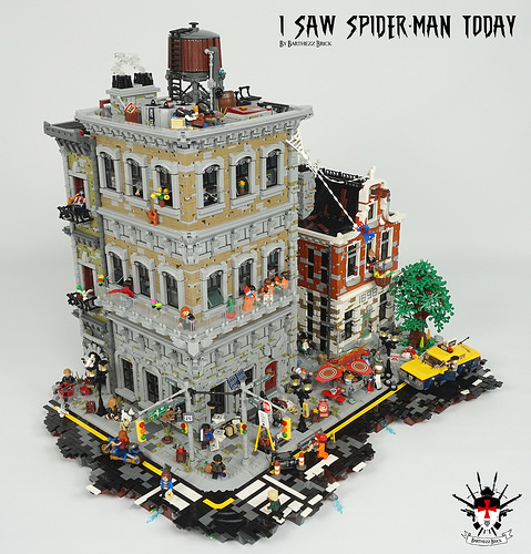 I Saw Spider-Man Today By Barthezz Brick 4