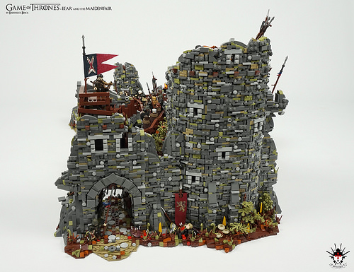 Game of Thrones - Bear and the Maiden Fair - by Barthezz Brick 7