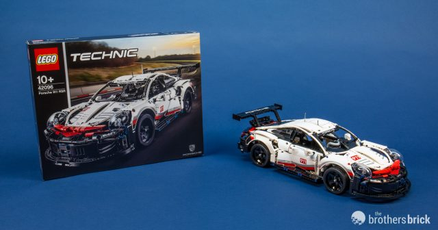 2019s Lego Technic 42096 Porsche 911 Rsr Is 1500 Pieces Of Lean