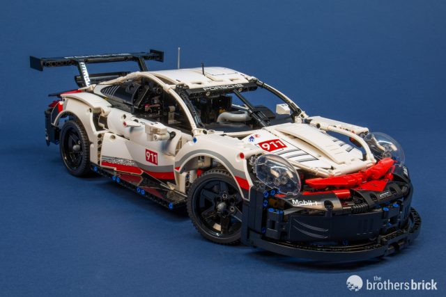2019 39 s lego technic 42096 porsche 911 rsr is 1 500 pieces. Black Bedroom Furniture Sets. Home Design Ideas