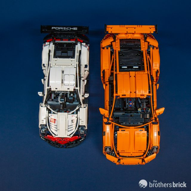 2019 S Lego Technic 42096 Porsche 911 Rsr Is 1 500 Pieces Of Lean Racing Looks Review The Brothers Brick The Brothers Brick