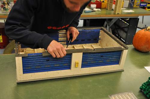 legoland model shop drag strip repair