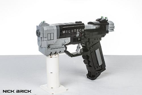 Militech 9mm Pistol - Cyberpunk 2077