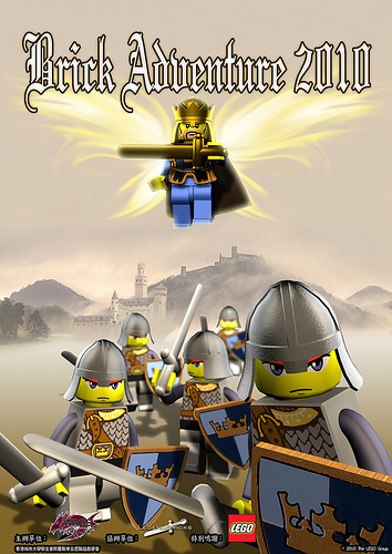 LEGO Bricks Adventure 2010 poster