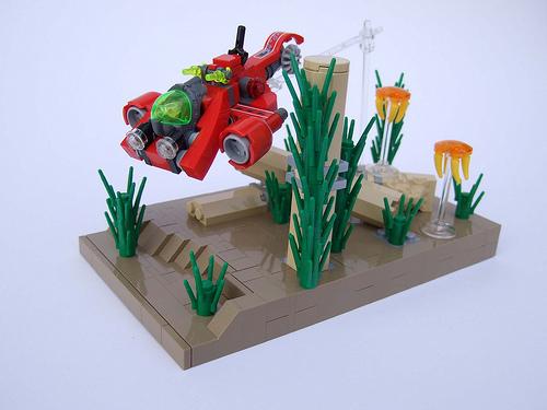 Microscale LEGO Atlantis