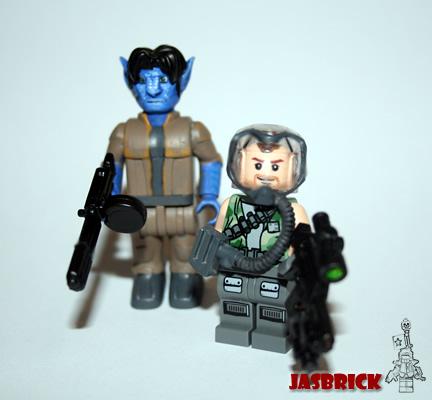 LEGO Avatar minifigs