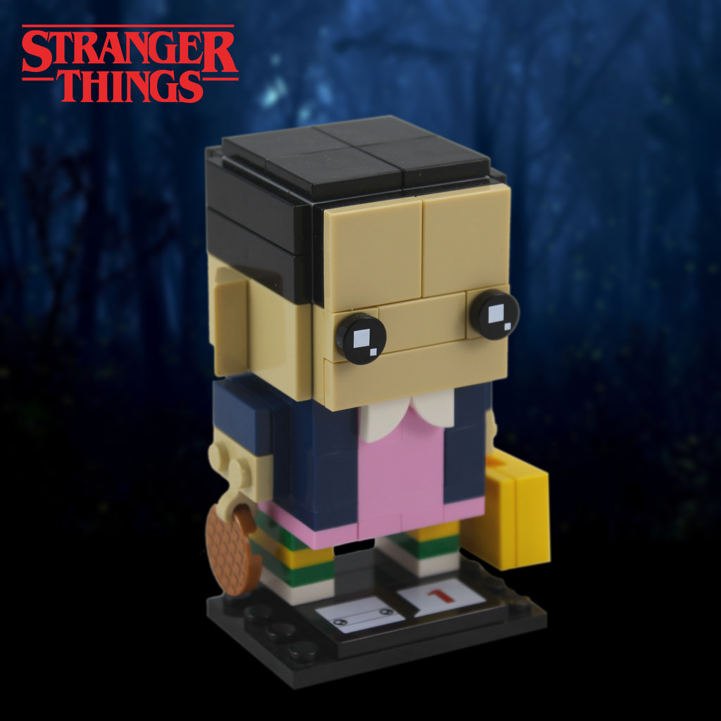 Stranger Things: Eleven Brickhead