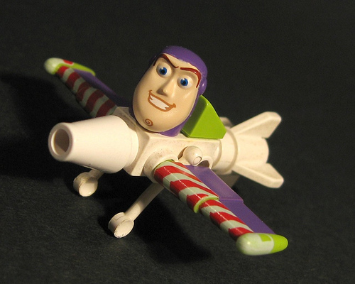 Mini Buzz Lightyear Plane