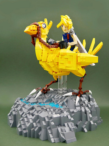 FF7 Chocobo & Cloud Strife