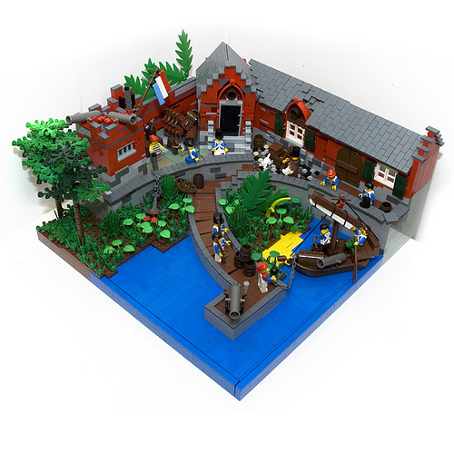 LEGO Nieks Dutch fortress