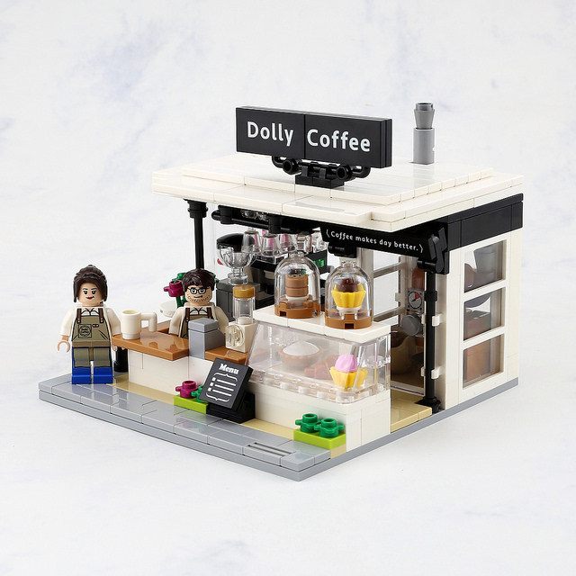 LEGO Coffee and Donuts