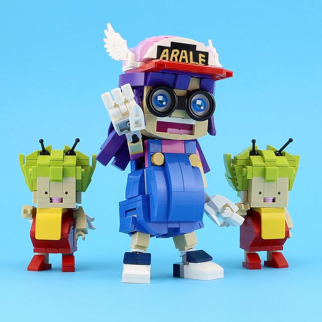 LEGO Arale anime