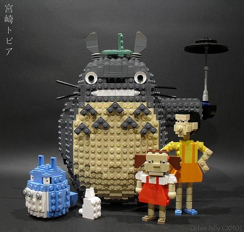 LEGO Hayao Miyazaki Totori, Mei, and Satsuki