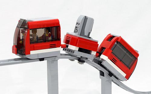 Roller Coaster Train