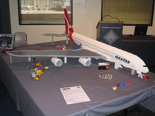 Ryans LEGO Qantas A380