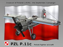 LEGO PZL P.11c