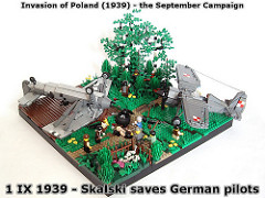 LEGO World War II diorama