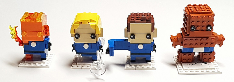 Brickheadz - Fantastic Four!