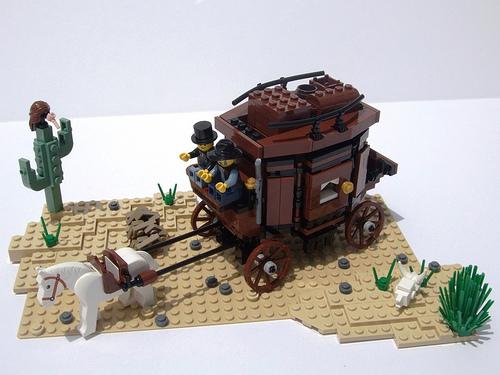 LEGO stagecoach
