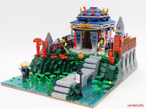 Snake Samouraï Temple