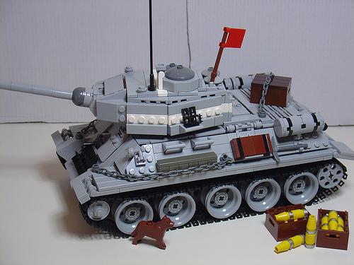LEGO Henrik Hoexbroe T-34 tank