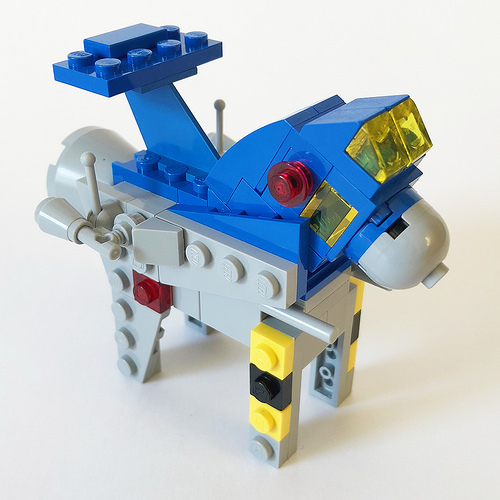 LEGO Dala Horse - Classic Space