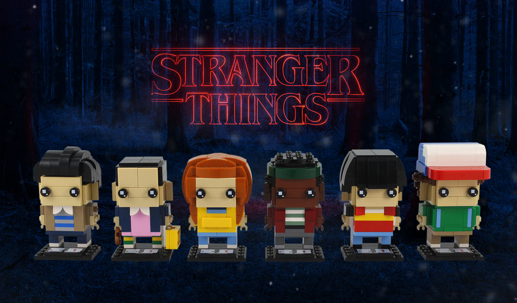 Stranger Things Brickheadz