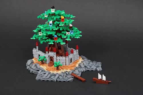 Micro-Castle Island