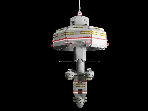 LEGO Lugdonius micro space station