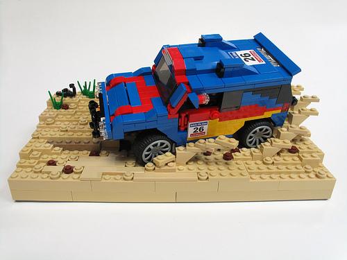 LEGO Pirate_Cat VW desert rally car