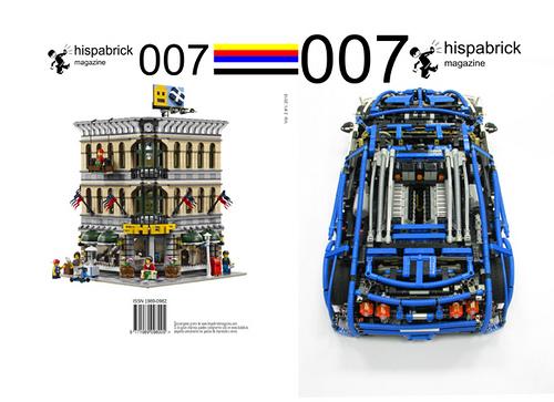 LEGO Hispabrick Magazine 007 cover