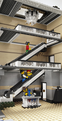 LEGO 10211 Grand Emporium interior